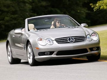 2005 Mercedes Benz Sl Cl Exterior