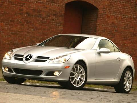 2005 Mercedes-Benz SLK-Class SLK55 AMG Roadster 2D  photo