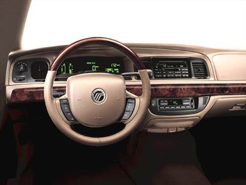 2005 mercury grand marquis Interior