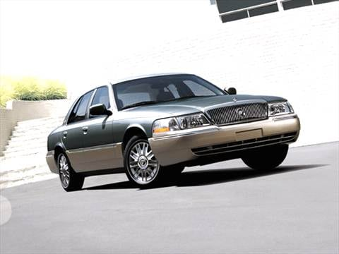 2005 mercury grand marquis Exterior