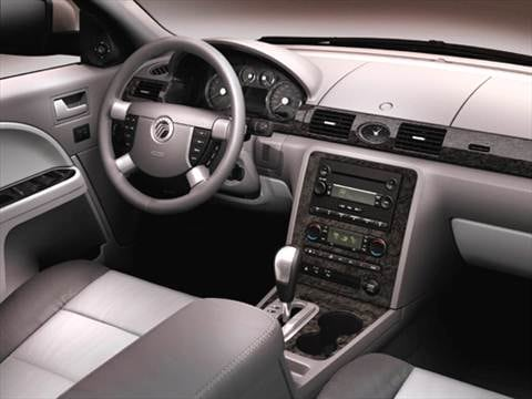 2005 mercury montego Interior