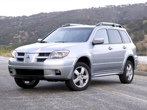 2005 mitsubishi outlander pricing ratings reviews. Black Bedroom Furniture Sets. Home Design Ideas