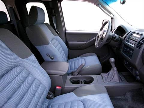 2005 nissan frontier king cab Interior
