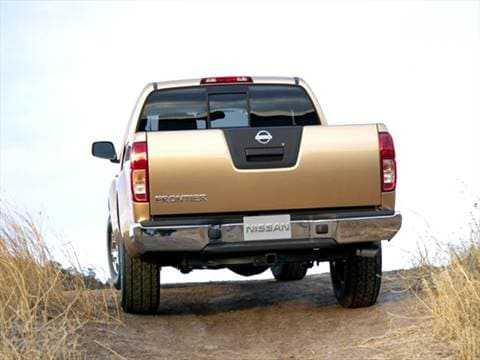 2005 nissan frontier king cab Exterior