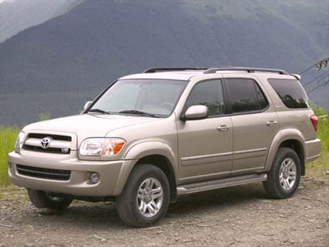 2005 toyota sequoia pricing ratings reviews kelley blue book. Black Bedroom Furniture Sets. Home Design Ideas
