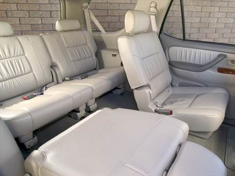 ... 2005 Toyota Sequoia Interior ...