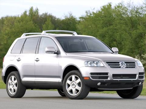 2005 volkswagen touareg pricing ratings reviews. Black Bedroom Furniture Sets. Home Design Ideas