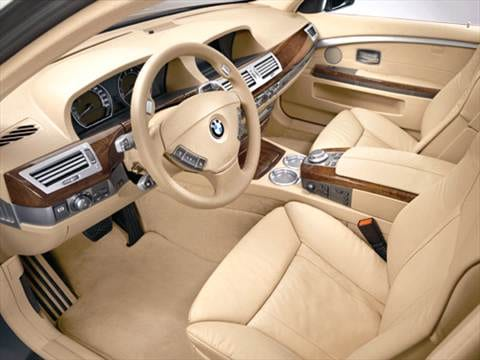 2006 bmw 7 series Interior