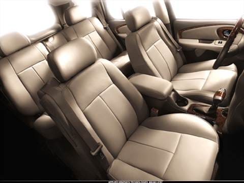 2006 buick rainier Interior