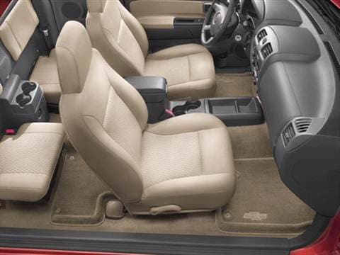 2006 chevrolet colorado extended cab Interior