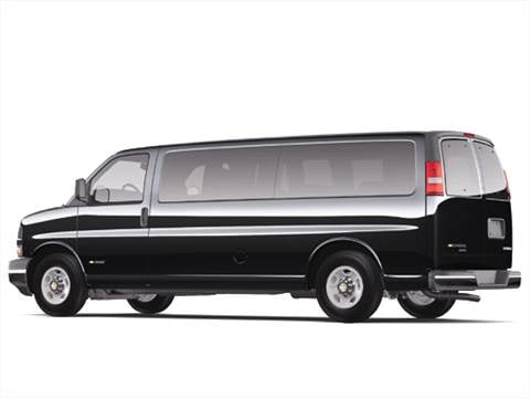 2006 Chevrolet Express 3500 Passenger LS Extended Van 3D  photo