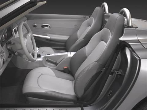 2006 chrysler crossfire Interior