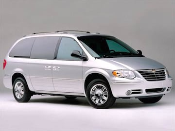 2006 Chrysler Town Country Exterior