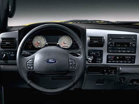 2006 ford f350 super duty crew cab Interior