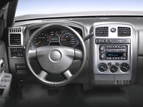 2006 gmc canyon extended cab Interior