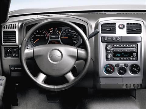2006 gmc canyon regular cab Interior