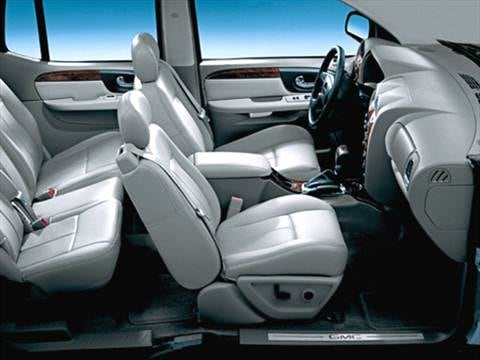 2006 gmc envoy xl Interior
