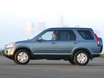 2006 Honda Cr V Exterior