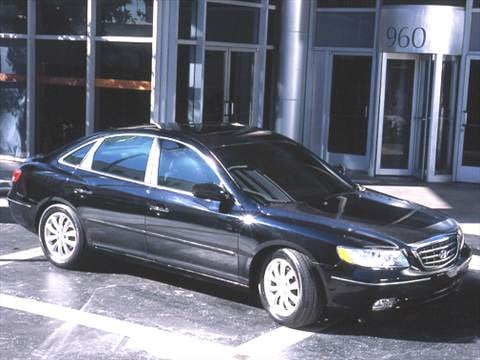 2006 Hyundai Azera SE Sedan 4D  photo