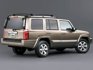 2006 jeep commander pricing ratings reviews kelley blue book. Black Bedroom Furniture Sets. Home Design Ideas