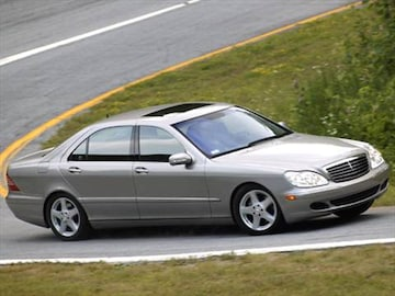2006 mercedes benz s class pricing ratings reviews for Mercedes benz blue book value