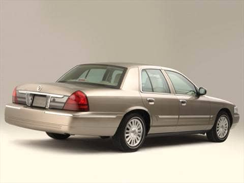 2006 mercury grand marquis Exterior