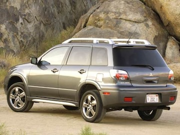 2006 mitsubishi outlander pricing ratings reviews. Black Bedroom Furniture Sets. Home Design Ideas
