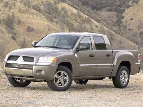 2006 Mitsubishi Raider Double Cab Pricing Ratings Reviews