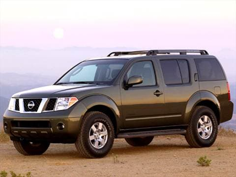 2006 Nissan Pathfinder. 16 MPG Combined