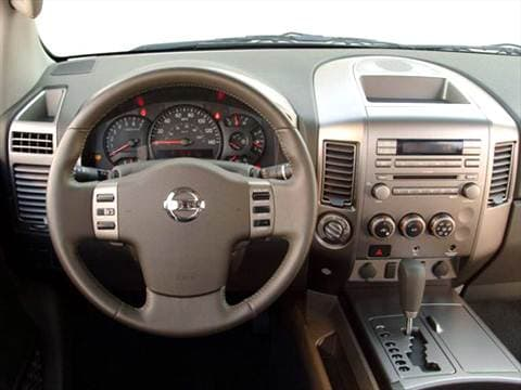 2006 nissan titan king cab Interior