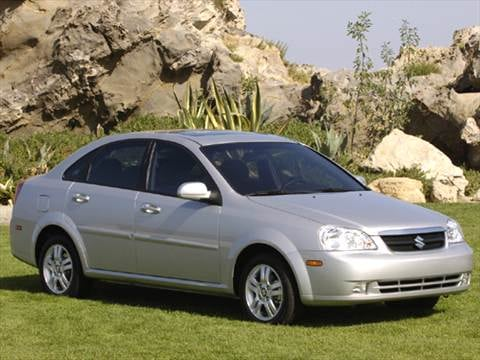 2006 suzuki forenza sedan 4d pictures and videos kelley. Black Bedroom Furniture Sets. Home Design Ideas