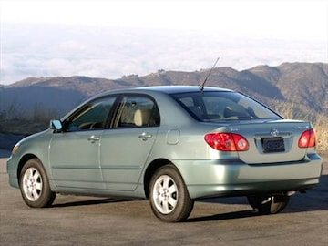 2006 toyota corolla pricing ratings reviews kelley for Honda vs toyota reliability