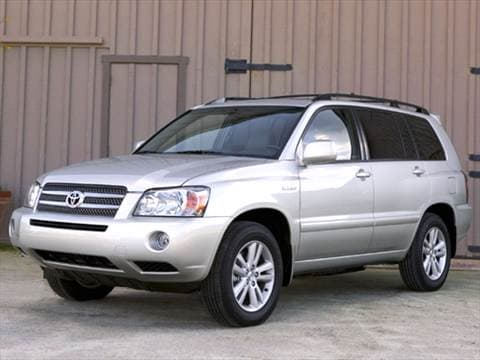 Toyota Highlander Hybrid Interior >> 2006 Toyota Highlander | Pricing, Ratings & Reviews | Kelley Blue Book