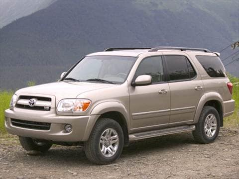 2006 Toyota Sequoia Pricing Ratings Amp Reviews Kelley