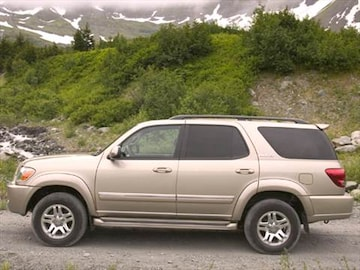 2006 toyota sequoia pricing ratings reviews kelley blue book. Black Bedroom Furniture Sets. Home Design Ideas