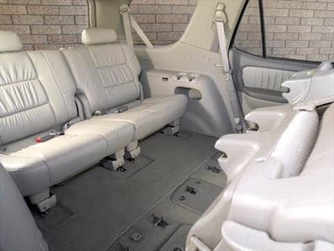2006 toyota sequoia Interior