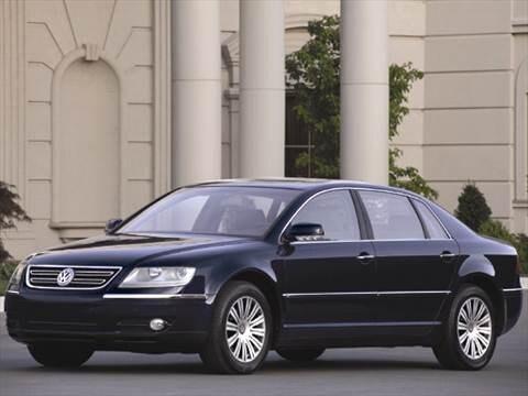 2006 Volkswagen Phaeton Pricing Ratings Reviews Kelley Blue Book