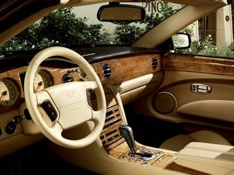 2007 bentley azure Interior