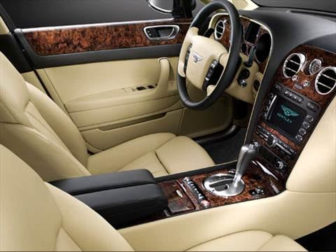 2007 bentley continental Interior