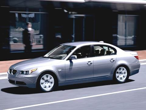 2007 Bmw 5 Series 20 Mpg Combined