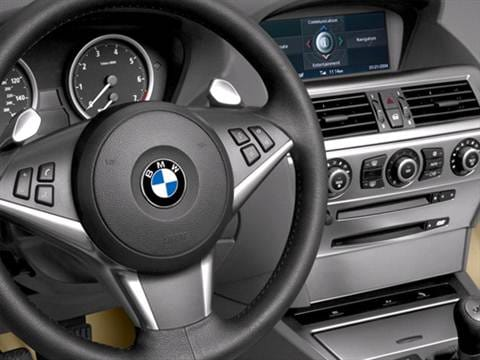 2007 bmw 6 series Interior