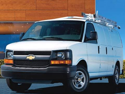 2007 Chevrolet Express 1500 Cargo Van 3D  photo