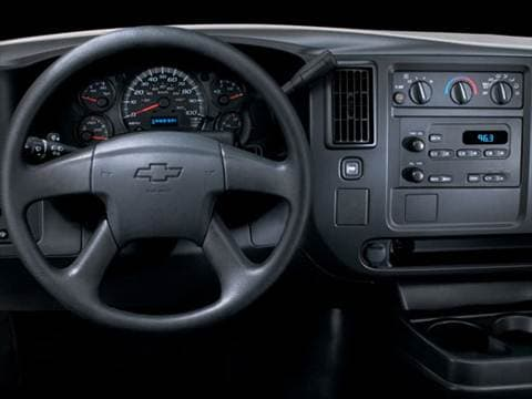 2007 chevrolet express 2500 cargo Interior