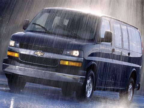 2007 Chevrolet Express 2500 Passenger LS Van 3D  photo