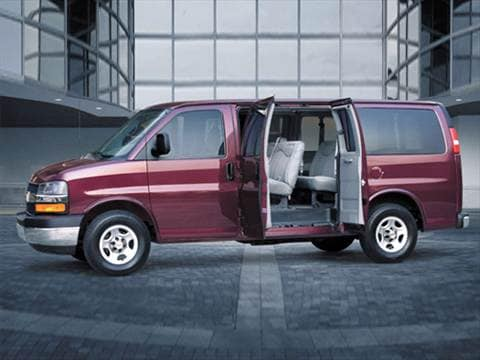 2007 Chevrolet Express 3500 Passenger LS Van 3D  photo