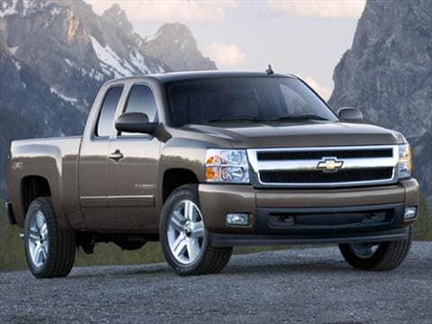 2007 Chevrolet Silverado 1500 Extended Cab Pricing Ratings