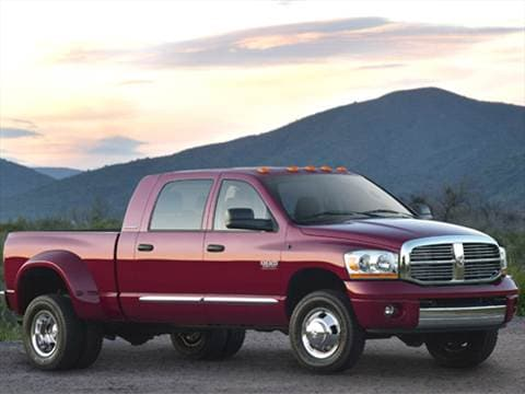 2007 Dodge Ram 3500 Mega Cab Laramie Pickup 4D 6 1/4 ft  photo