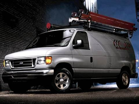 2007 Ford E350 Super Duty Cargo Commercial Van 3D  photo