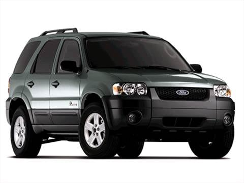 2007 Ford Escape Hybrid Sport Utility 4D Pictures and ...