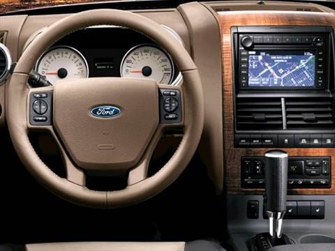 2007 ford explorer Interior